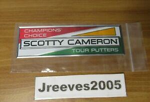 "NWT Scotty Cameron 2020 Euro Racer Sticker - 6.5"" x 2"""