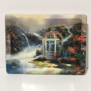 Thomas-Kinkade-034-Hidden-Arbor-034-Natures-Retreats-Collector-Plate-1998