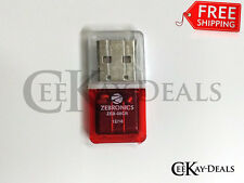 100% Original Zebronics Branded Micro SD Card Reader + Warranty ZEB-08CR