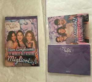 Biglietti Auguri Compleanno Di Violetta.Biglietto Auguri Violetta Compleanno Busta Auguri Disney Ebay