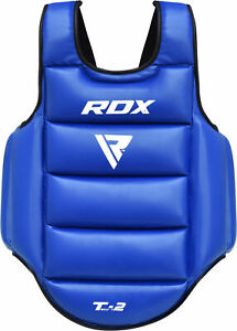 RDX-Boxing-Protector-Chest-Guard-MMA-Body-Armour-Training-Kickboxing-Sports-New