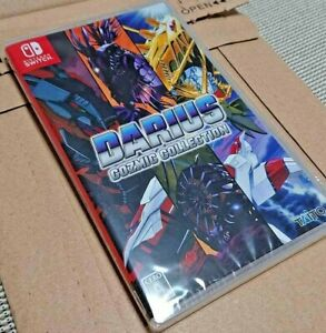 DARIUS COZMIC COLLECTION SWITCH JAPAN W/ ENGLISH SUBS REGION FREE NEW SEALED