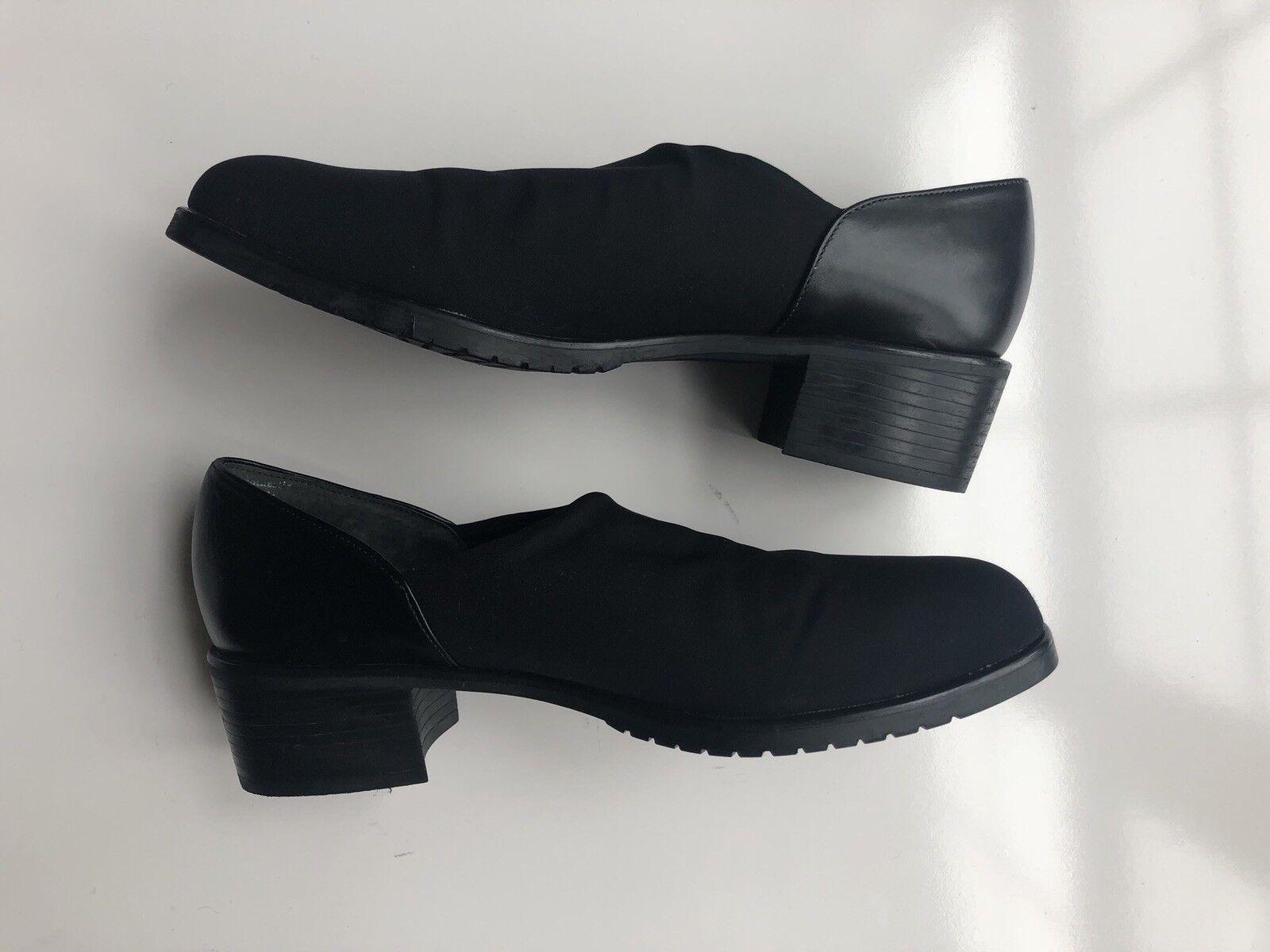 Black Munro Billie Pump shoes Loafer Women Size 7N 7N 7N 62ae63