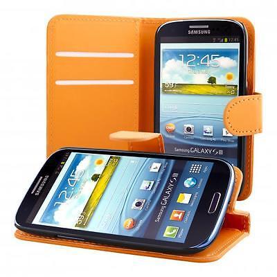 Samsung Galaxy S3 i9300 NEO i9301 custodia protettiva case cover arancione