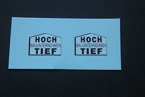MATCHBOX-SUPERKING-K23b-LOW-LOADER-HOCH-amp-TIEF-TRANSFERS-DECALS