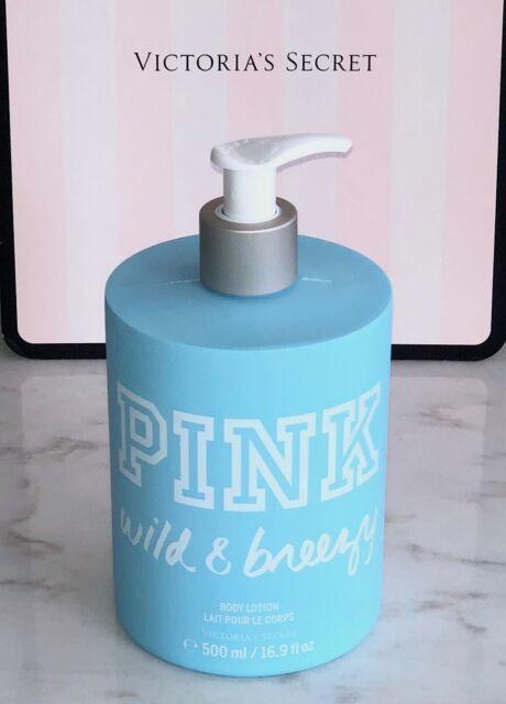 Victoria's Secret PINK Body Lotion WILD & BREEZY 16.9 fl oz