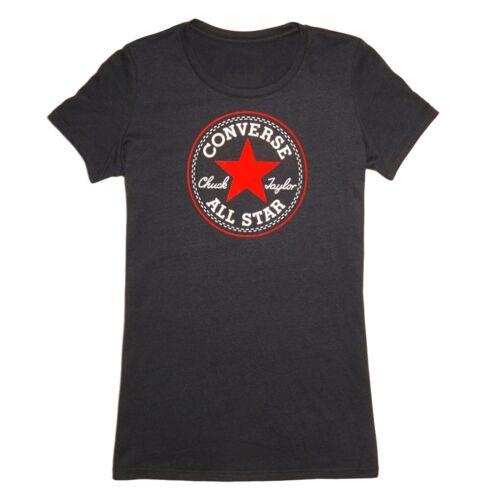 Billig Limited Edition Rabatt Erstaunlicher Preis Core 2 Color Hthr CP Crew Schwarz Patch Damen Skinny Logo T-Shirt Größe XS Converse Freies Verschiffen Wirklich Erhalten Zu Kaufen 100% Authentisch Günstiger Preis nCAiuTpbC