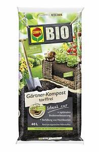 Bio Erde Kaufen : compo bio g rtner kompost 40 l erde hochbeeterde ~ Watch28wear.com Haus und Dekorationen