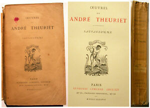 POESIE-ANDRE-THEURIET-SAUVAGEONNE-LEMERRE-1887-HENNER