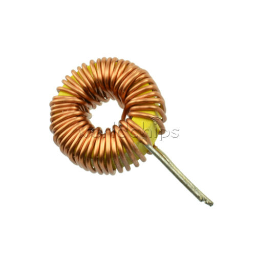 10Pcs Toroid Core Inductors Wire Wind Wound  mah--100uH 6A Coil DIY