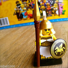LEGO 71007 Minifigures BATTLE GODDESS #5 Series 12 SEALED Greek Roman Spear Lady
