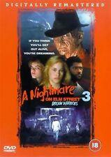 A NIGHTMARE ON ELM STREET PART 3 DREAM WARRIORS Robert Englund NEW UK R2 DVD