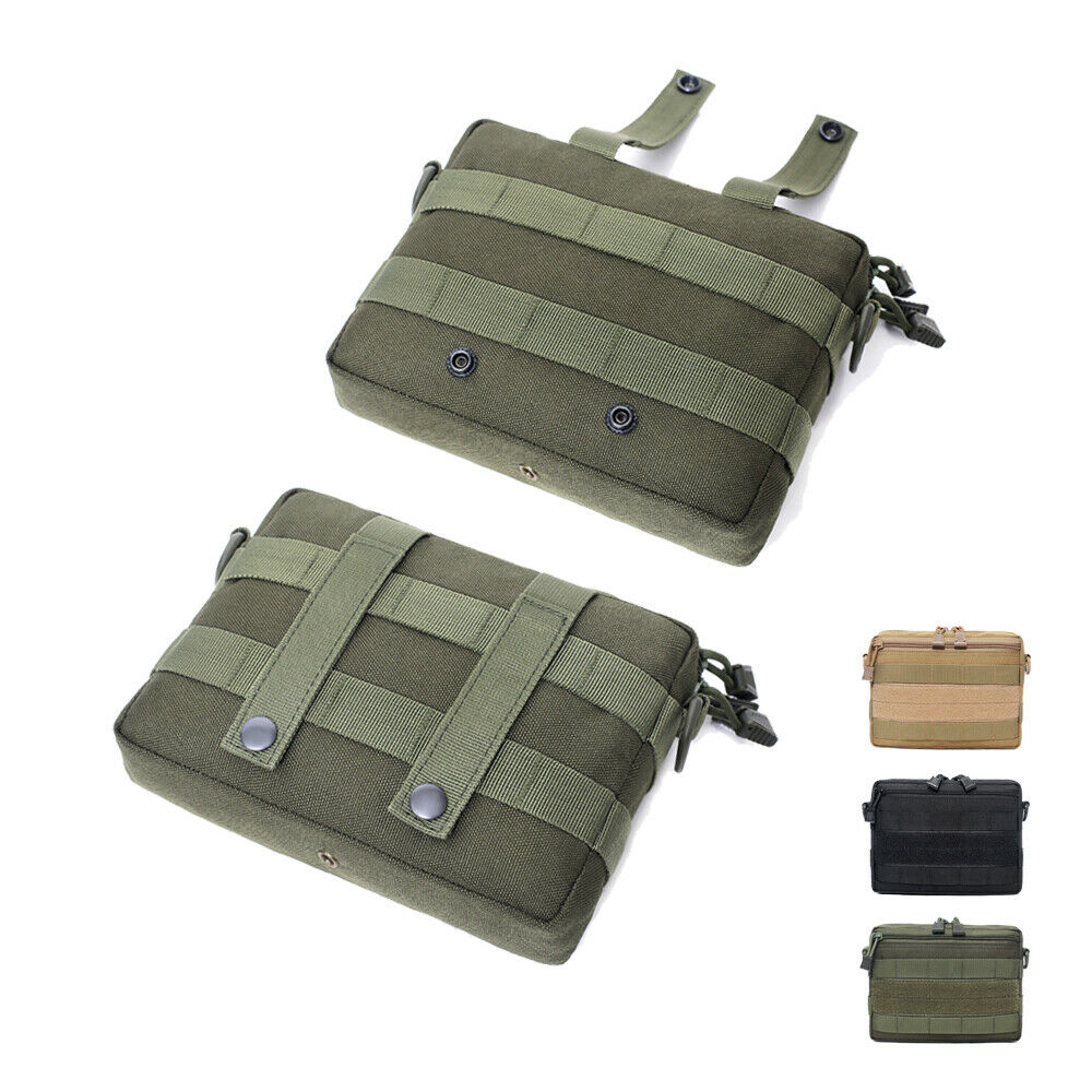 Outdoor Tactical Molle Waist Pack Magazine Pouches Storage Holder Bags Military