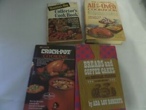 Lot of cookbooks Rival crockpot, Breads and coffee cakes, Woman's Day