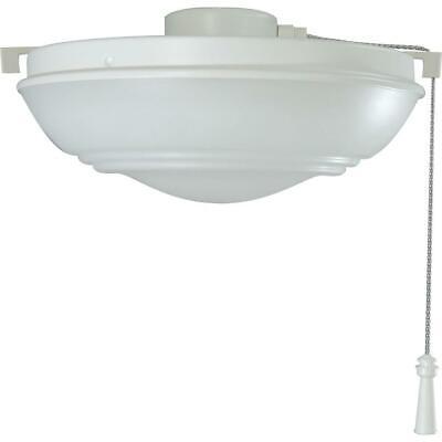 Hampton Bay Raleigh Led Matte White Ceiling Fan Light Kit 82392911836 Ebay