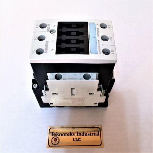 SIEMENS  3RT 1034-1BB40  24V AC//DC CONTACTOR