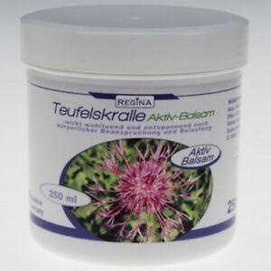 1,60€/100 Ml Wirkt Wohltuend & Entspannend RegelmäßIges TeegeträNk Verbessert Ihre Gesundheit Teufelskralle Aktiv-balsam 250 Ml Verantwortlich