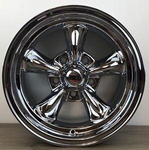 REV Classic 100 Wheels Chrome 100C-5807300 Size 15x8 Bolt 5x5.0