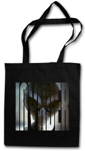 GRAY ALIEN INVADER STOFFTASCHE UFO Majestic 12 Grey Area 51 TR3B Blue Book