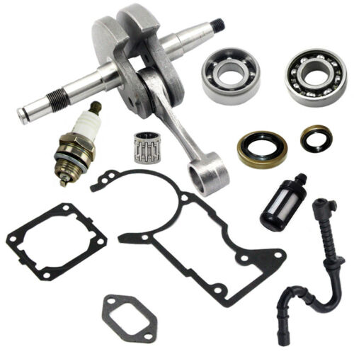 Crankshaft Crankcase Cylinder Muffler Gasket For Stihl 044 MS440 Chainsaw New