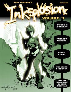 INKSPLOSION-4-Fantasy-amp-Sci-Fi-Ink-Art-by-Mike-Hoffman