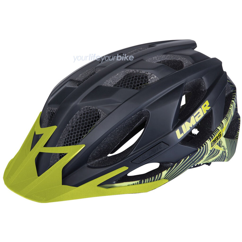 Limar 885 All mountain casco 235g Mountainbike MTB enduro freeride bike Matt verde