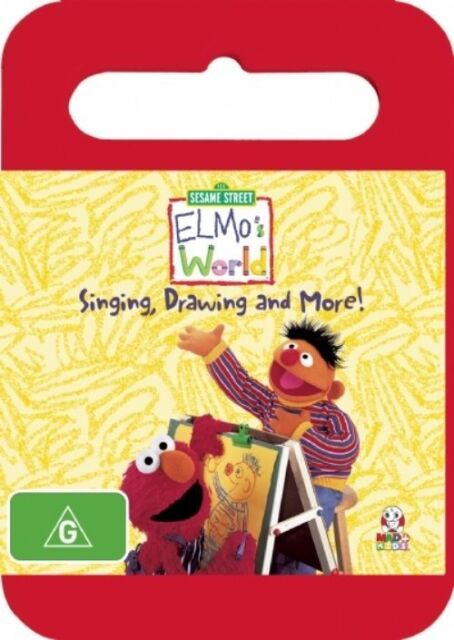 Elmo S World Singing Drawing And More Dvd 2008
