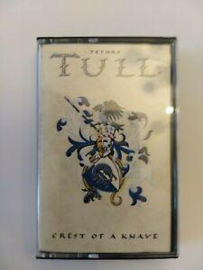 Jethro Tull: Crest of a Knave original cassette tape
