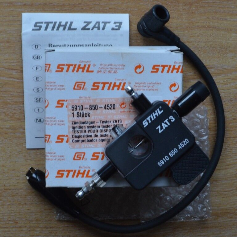 Genuine STIHL Probador de ignición ZAT3 MS200T MS201T MS441 5910 850 4520 seguimiento