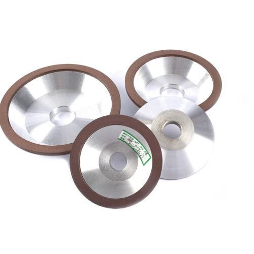 "3/""-6/"" Resin Bonded Flaring Diamond Grinding Cup Wheel 120-600Grit Cutter Grinder"