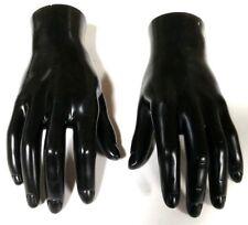 Mn Handsm Wf Pair Of Black Leftright Male Mannequin Hands Display