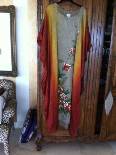 One Dress Caftan Size Lounging Magic q7wOFfAx8
