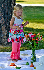 RUFFLED PANTS ICING & 3 RUFFLE lots of colors size 18 M, 2T, 3T,  4T, 5T
