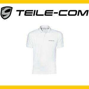 ORIG-Porsche-Polo-Shirt-weiss-L-50-52-911-964-993-996-997-991-Boxster-Cayman