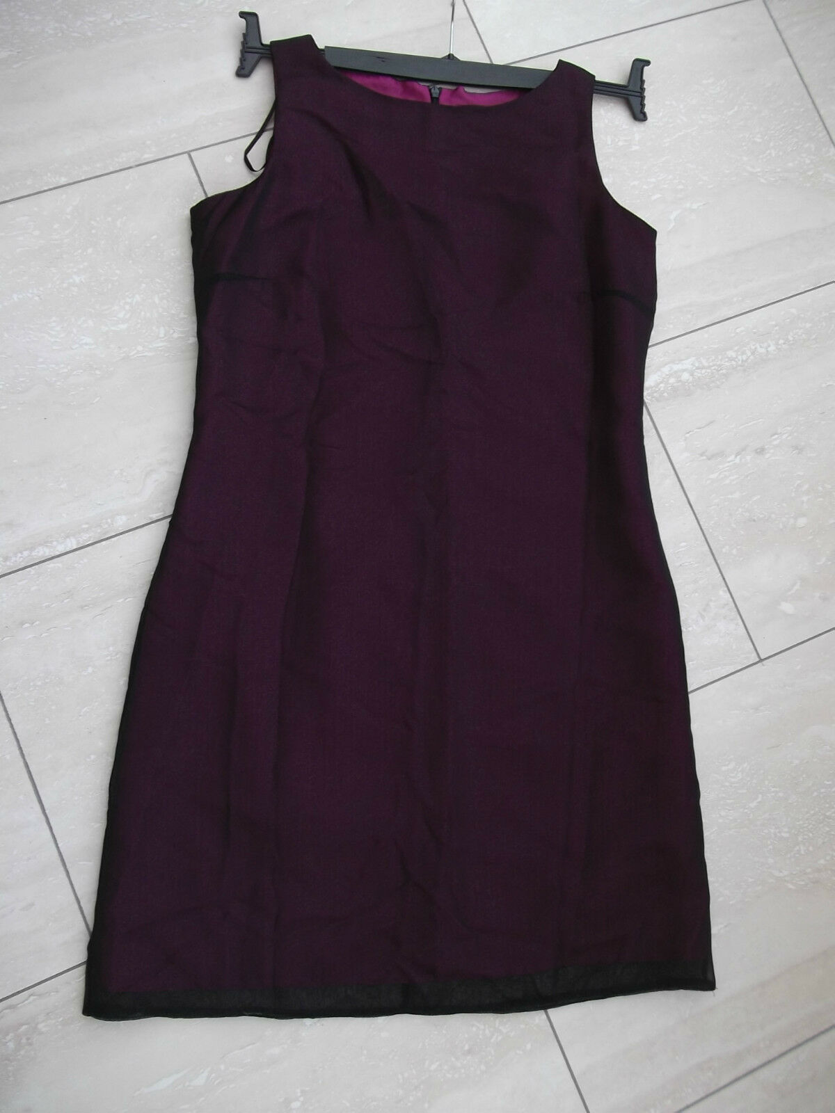 Wine coloured dress by Berkertex. Size 12