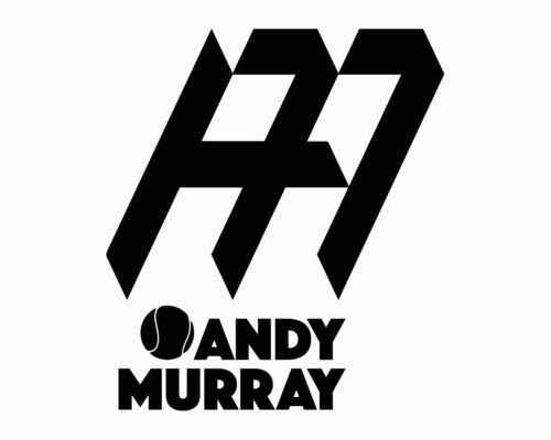 ANDY MURRAY VINYL DECAL wimbledon Tennis logo sticker car van badge