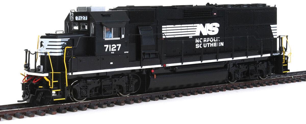 Walthers proto - skala emd gp60 lokomotive sound   dcc norfolk southern   ns   7127
