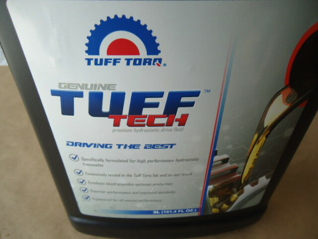 NEW Genuine OEM Tuff Torq Hydrostatic Transmission Fluid Oil Tuff Tech 5W50