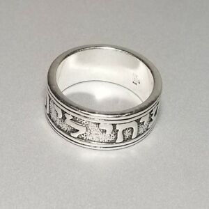 8dedf2d868436 Details about James Avery Song of Solomon Silver Ring Size 10.5