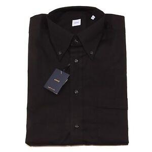 formato difficile Anche  2621P camicia manica corta nera CARREL camicie uomo shirt men | eBay