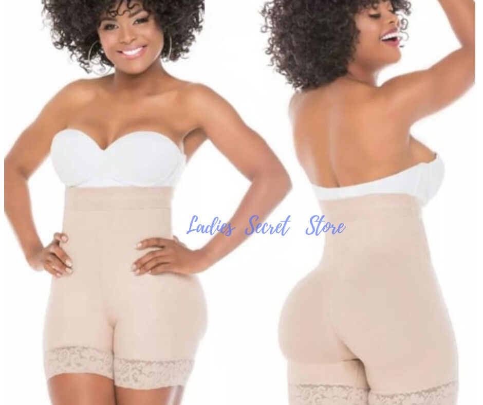 Fajas Salome 0218 High Waist Slimming Shorts Butt Lifter Invisible New ENFAJATE