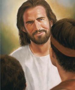 Guardian Jesus Christ Print Picture by David Bowman Religious Spiritual Art New