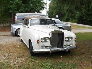 rolls royce cloud project, parts car. phantom, wraith, side light