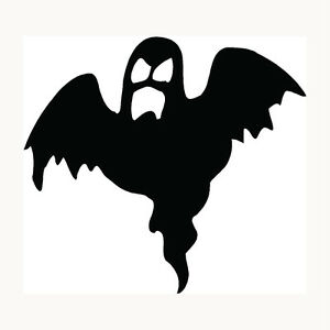 Ghost Sticker Halloween Scary Haunting Boo Car Window Vinyl Decal ...