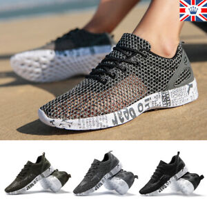Men Magic Breathable Mesh Shoes Outdoor Hiking Camping Light Quick Drying Shoes