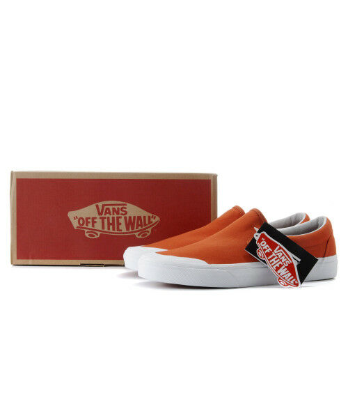 Vans Authentic Classic Slip On Pureed Pumpkin Canvas Men zapatillas VN0A3TKBU7W1