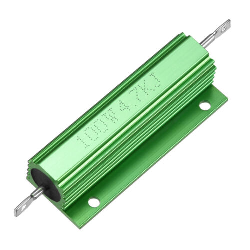 Aluminum Case Resistor 100W 1K-60K Ohm Wirewound for LED Replacement Converter