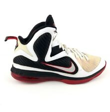 differently 7ae7e 86d83 item 5 Nike Lebron 9 Scarface Hightop Shoes, Mens Sz 10.5, White, Red,  Black 469764 100 -Nike Lebron 9 Scarface Hightop Shoes, Mens Sz 10.5,  White, Red, ...