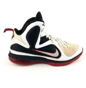 sports shoes 3b28c c6632 Image is loading Nike-Lebron-9-Scarface-Hightop-Shoes-Mens-Sz-