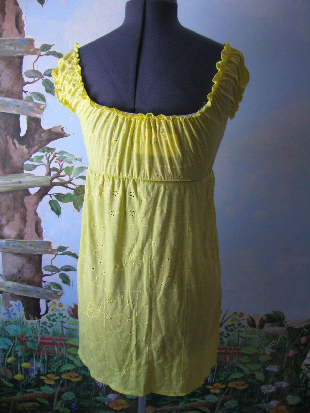 Cover Me Me Me Cover-up Yellow Women's Swimsuit Cover up Size Small 0a5cfb